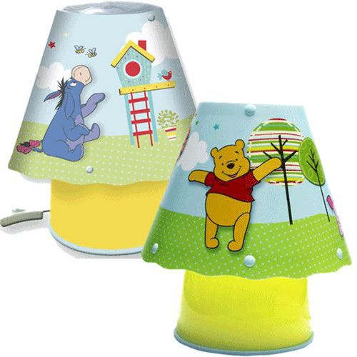 petite lampe de chevet winnie l 39 ourson achat vente lampe cdiscount. Black Bedroom Furniture Sets. Home Design Ideas