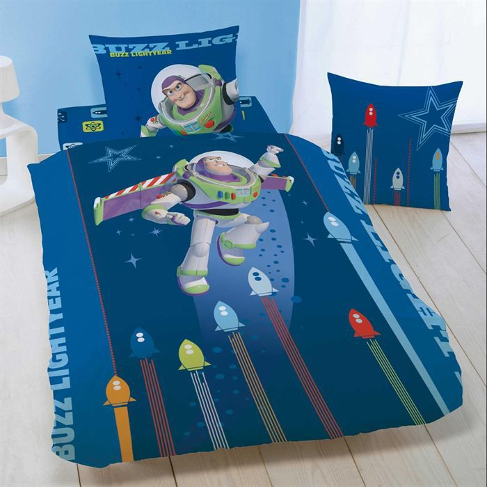 housse de couette toy story phosphorescente taie achat