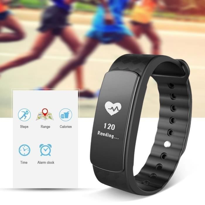 fitness tracker d 39 activit cardio smart bracelet. Black Bedroom Furniture Sets. Home Design Ideas