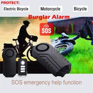 KIT ALARME Sans fil anti-vol Alarme antivol pour vélo Motocyc