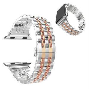 BRACELET DE MONTRE Bande de montre Bande de poignet en acier inoxyda