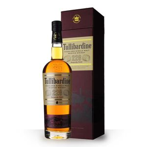 WHISKY BOURBON SCOTCH Tullibardine 228 Burgundy Finish 43% 70cl