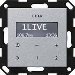 RADIO CD CASSETTE GIRA 228426 UP-RADIO RDS OHNE LAUTSPRECHER SYSTEM