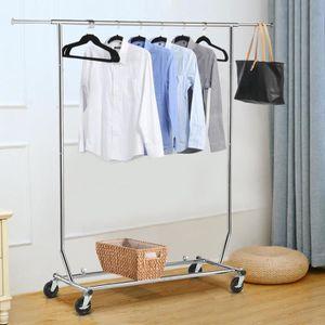 PENDERIE MOBILE Penderie à Vêtements Pliable - Longueur Hauteur Ré