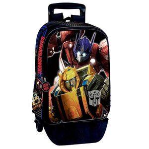 CARTABLE Sac à dos à roulettes Transformers Power 43 CM tro