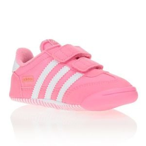 adidas dragon fille rose