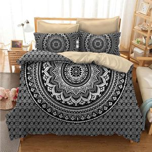 housse de couette mandala achat vente pas cher. Black Bedroom Furniture Sets. Home Design Ideas