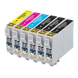 CARTOUCHE IMPRIMANTE 6 encre cartouches pour Epson DX4400 DX4450 DX7400