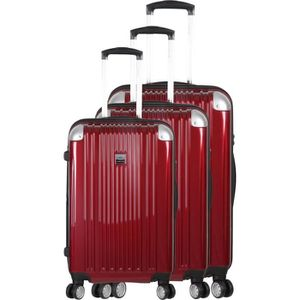 SET DE VALISES FRANCE BAG - Set de 3 valises ABS/POLYCARBONATE 8