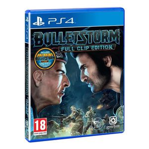 JEU PS4 Bulletstorm Full Clip Edition PS4 + 2 Light Bar Sk