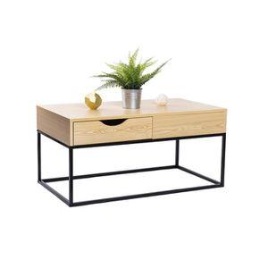 TABLE BASSE Table Basse Salon + tiroir rangement | Grand Plate