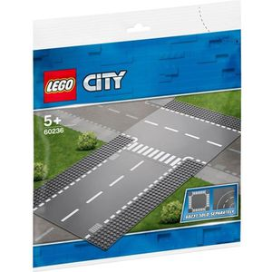 ASSEMBLAGE CONSTRUCTION LEGO® City 60236 Droite et intersection
