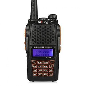 TALKIE-WALKIE Baofeng UV-6R Dual-Band Two-Way Radio Transceiver