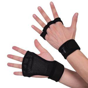Etui Gel Rembourré Gym Fitness formation des gants de cuir Sports Cyclisme Vélo Cycle