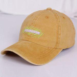 CHAPEAU - BOB Mode Lettre brodée Cowboy chapeau Casual et des fe