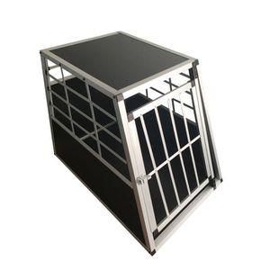 CAISSE DE TRANSPORT Cage Transport Chien Aluminium Large