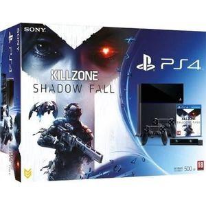 CONSOLE PS4 PS4 500 Go Noire + 2 DUAL+ CAMERA + KILLZONE