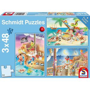 PUZZLE SCHMIDT AND SPIELE Puzzle enfant - Piratenbande -