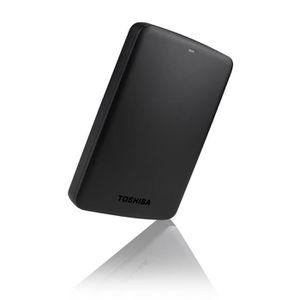 DISQUE DUR EXTERNE Toshiba Disque Dur noir 250 Go CANVIO BASICS 2.5