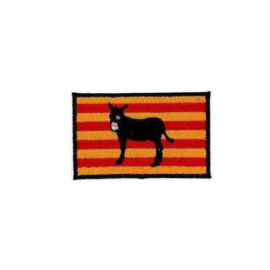 Patche /écusson drapeau Catalogne