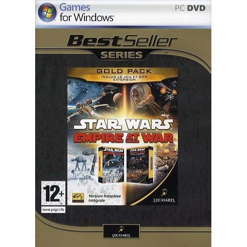 JEU PC STAR WARS EMPIRE AT WAR GOLD / JEU PC DVD-ROM