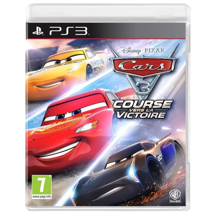 cars 3 jeu ps3 achat vente jeu ps3 cars 3 jeu ps3 cdiscount. Black Bedroom Furniture Sets. Home Design Ideas