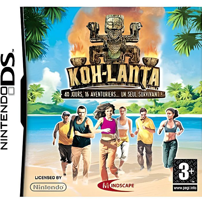 koh lanta jeu console nintendo ds achat vente jeu ds dsi koh lanta ds cdiscount. Black Bedroom Furniture Sets. Home Design Ideas
