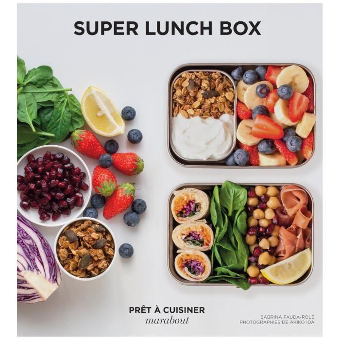 MARABOUT Livre Super lunch box 192 pages