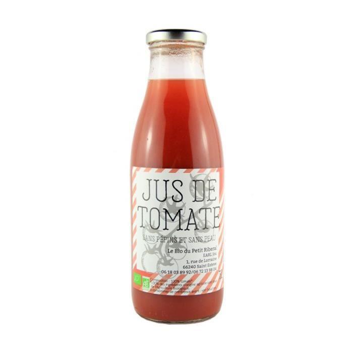 Le Bio du petit Riberal - Jus de Tomate