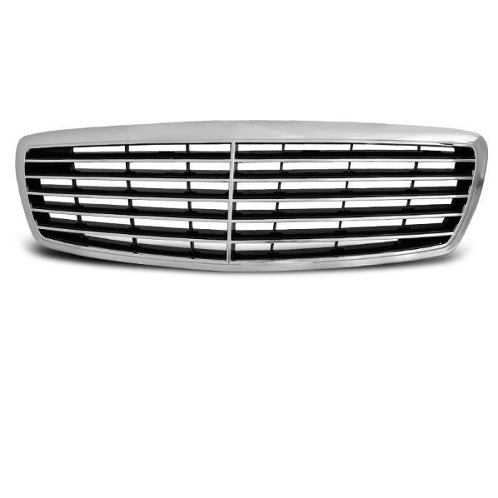 Mercedes w210 w202 w140 w124 MOPF 2 Verticale Baguette calandre 2 St NOUVEAU!