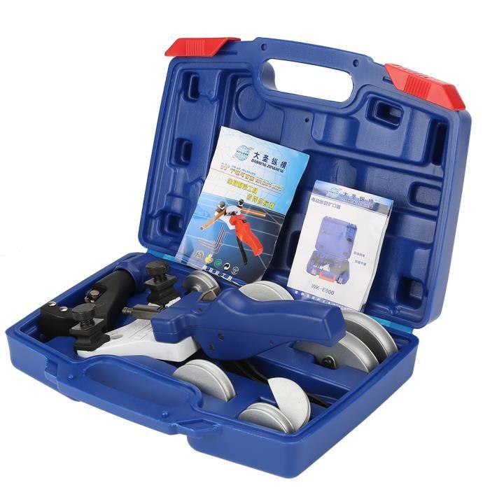 HURRISE Cintreuse de tubes WK-666 Kit d'outils de cintrage de tube manuel pour cintreuse de tubes en cuivre 5-12mm