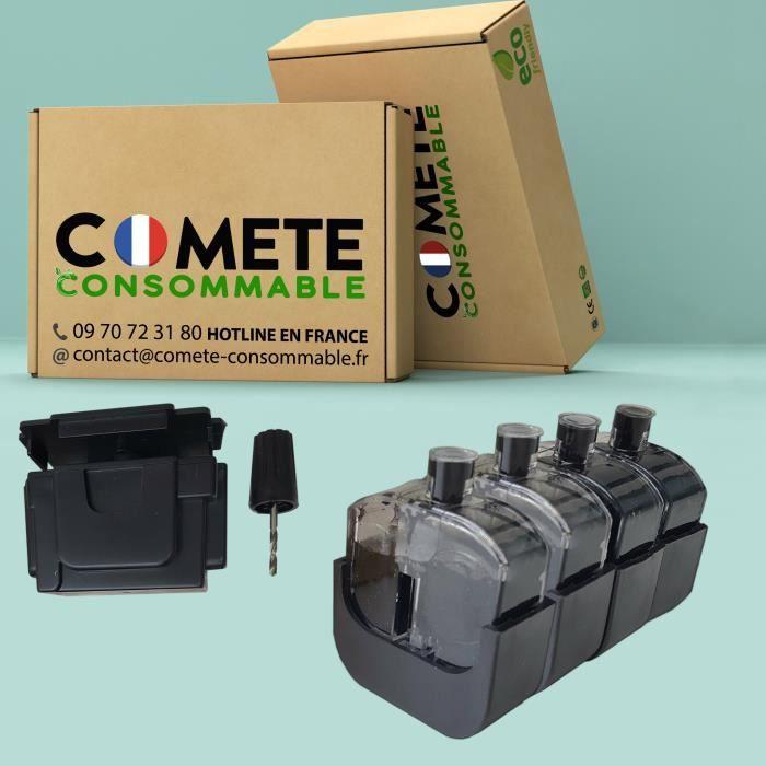 1 Kit Recharge Encre Premium Noir PG-545 PG545 Compatible avec imprimantes Canon PIXMA Facile Economique Ecologique - Comète France