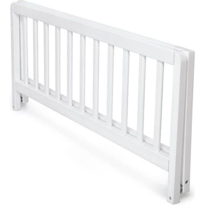 GEUTHER Barriere de lit Sweet Dream 90 cm rabattable en hêtre massif - coloris blanc