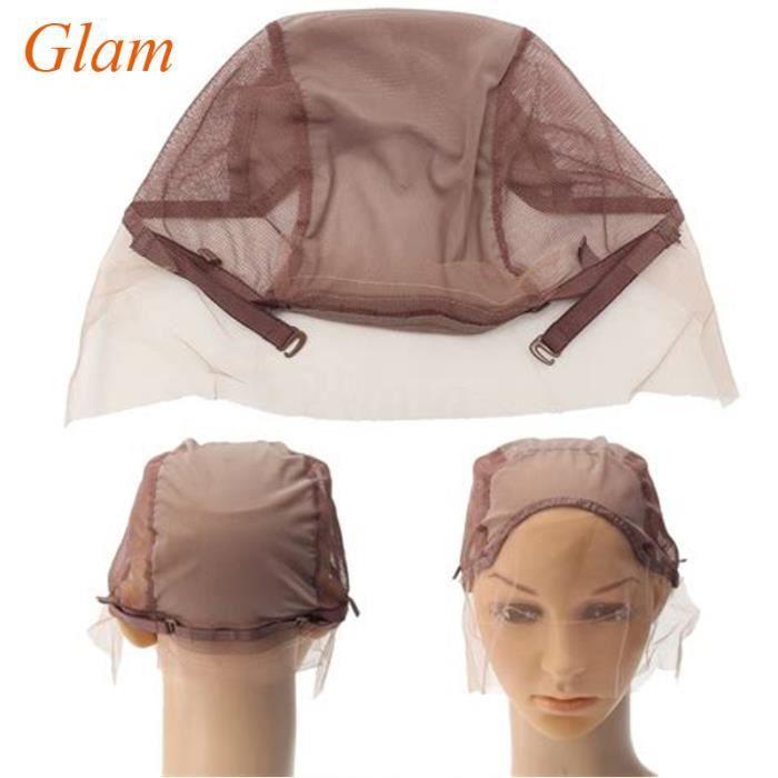 5 Piece wholesale Bonnet Pour Fabrication De Perruques ( Wig Cap ) avec lace