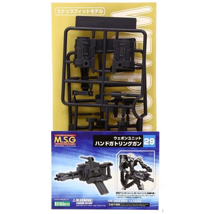 Main Gatling Guns MSG Arme Unité 29 Support de la modélisation marchandises (échelle en plastique non Kit)