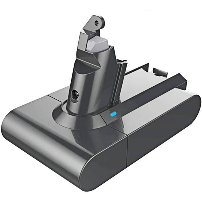 LENKENG Batterie rechargeable Li-ion DC62 V6 21.6V 3500mAh pour Dyson V6 DC58 DC59 DC61 DC62 DC74 SV09 SV07 SV03 Batterie