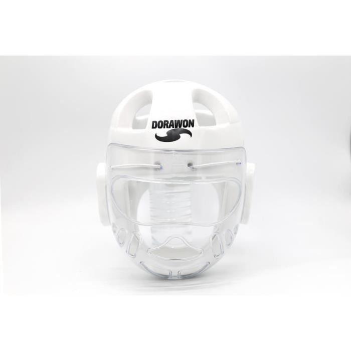 Casque de protection a bulles BUSAN blanc par Dorawon
