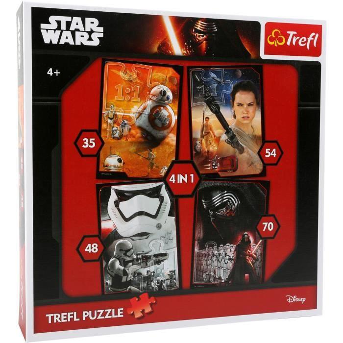 Star Wars Puzzle 4 en 1