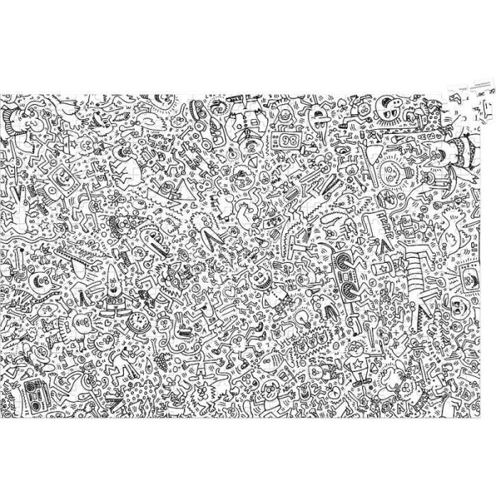 Vilac - Puzzle Keith Haring (500 pièces) - VILAC