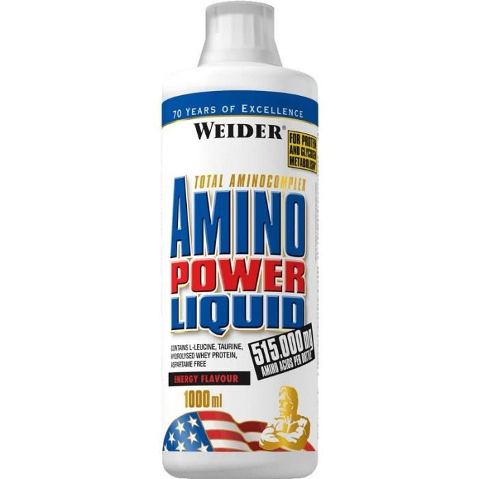 WEIDER Sachet de Amino Power Liquid Cola 1L
