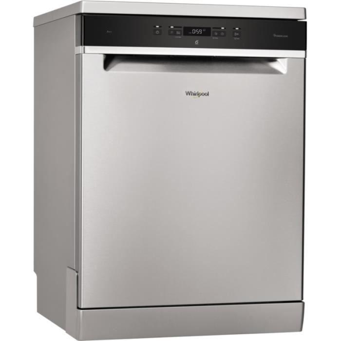 Lave vaisselle 60 cm Whirlpool WFC3C26PX Inox • Lave-vaisselle • Gros électroménager