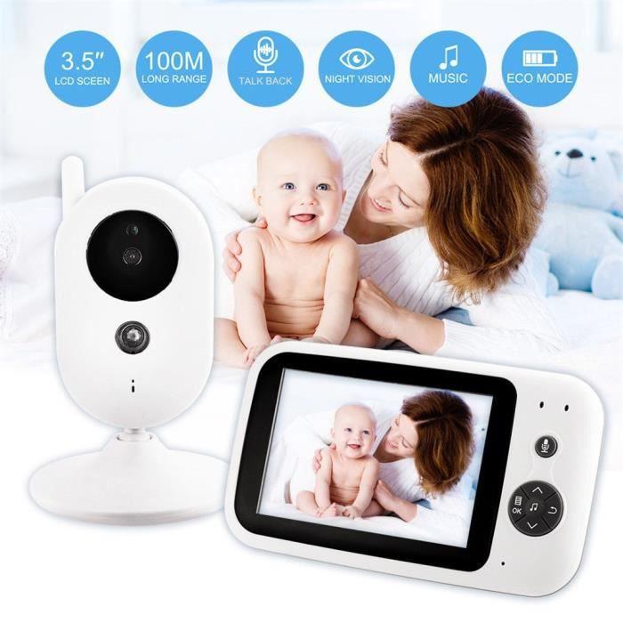 "Wireless Digital 2.4/"" LCD HD Baby Monitor Camera Night Vision Audio Video 2.4GHz"