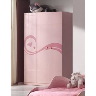 armoire enfant 3 portes lucie vpk achat vente. Black Bedroom Furniture Sets. Home Design Ideas