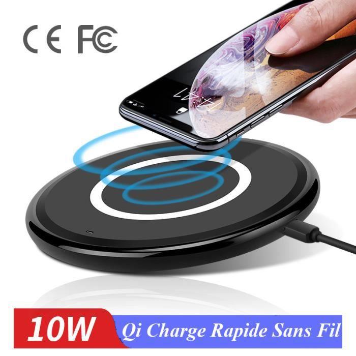CHARGEUR TÉLÉPHONE Juce® Chargeur Sans Fil iPhone X XS XR Chargeur à