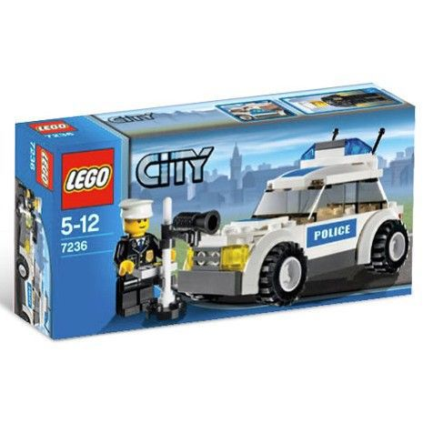 lego city la voiture de police achat vente assemblage construction cdiscount. Black Bedroom Furniture Sets. Home Design Ideas