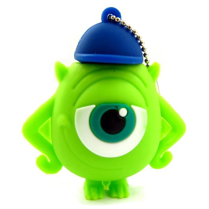 cl usb monsters university vert 8go achat vente. Black Bedroom Furniture Sets. Home Design Ideas