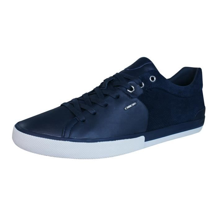 Geox U SMART I Blue - Chaussures Baskets basses Homme