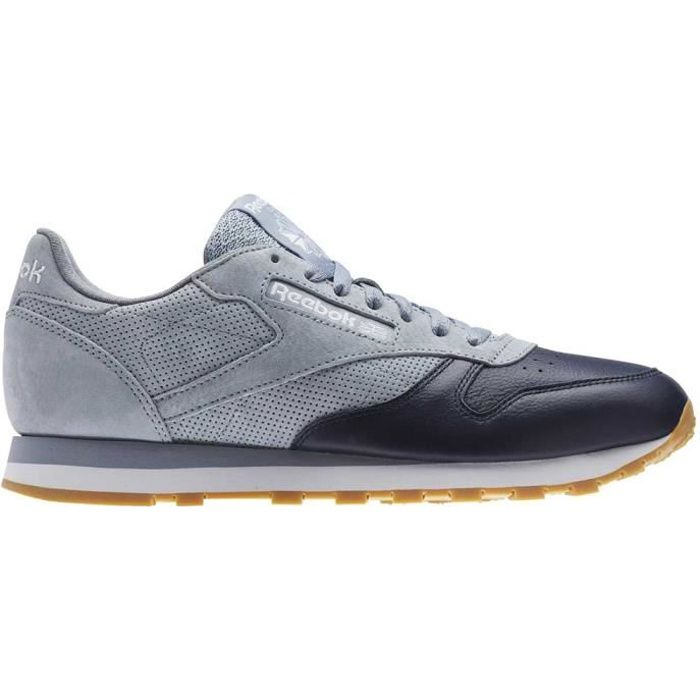 37fc56b1953 Chaussures homme Baskets Reebok Classics Classic Leather Ls Gris ...