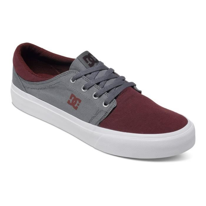 DC SHOES Trase Tx Chaussure Homme - Taille 40.5 - GRIS
