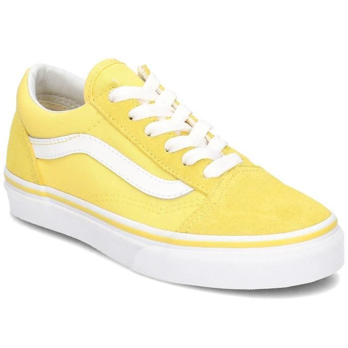 old skool vans jaune